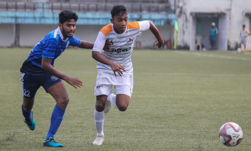 At 18, Johnson Mathews has already made his mark in Mumbai football with some stellar performances in the last few years and will now represent Hyderabad FC reserves.