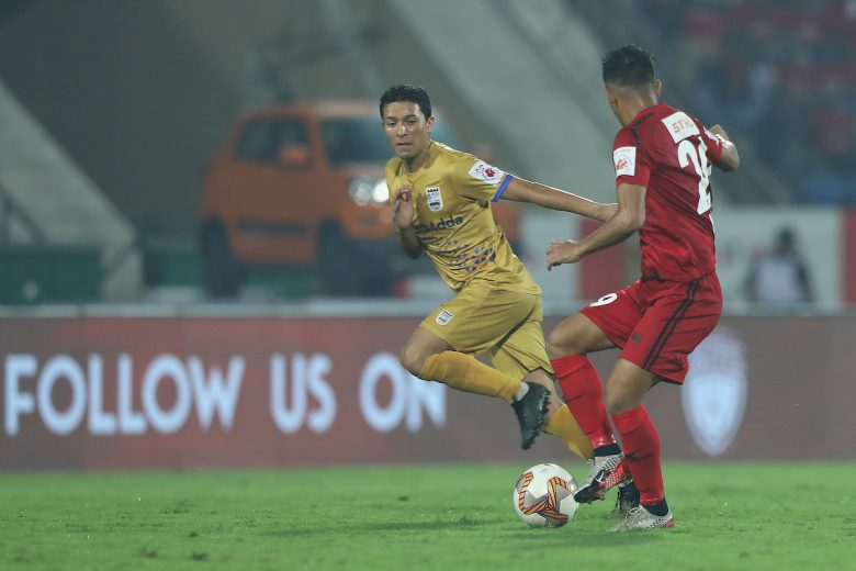 A goal-fest in Guwahati saw NorthEast United FC and Mumbai City FC share the spoils in a 2-2 draw in a Hero Indian Super League (ISL)