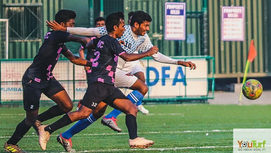 Karnatak Sporting Association (KSA) produced another victory as they got the better of Bombay Muslims by a fighting 3-1 margin in a keenly contested