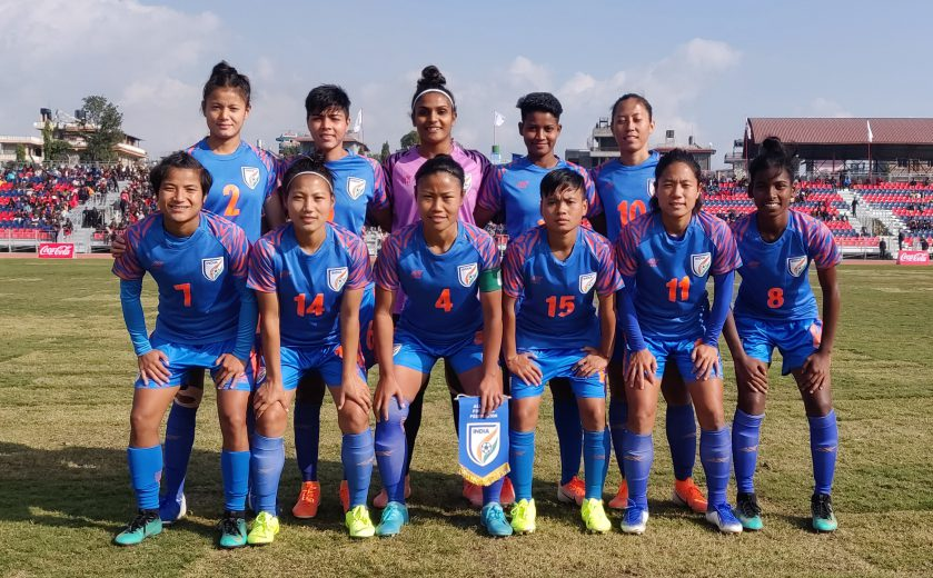 The Indian women's football team began their South Asian Games 2019 campaign with a comfortable 5-0 win over the Maldives on Tuesday (December 3, 2019).