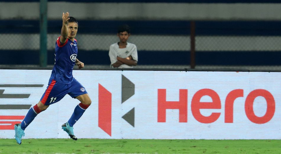 Chhetri strikes brace as Bengaluru FC continued their supremacy over FC Goa with a gritty 2-1 win in an engrossing Hero Indian Super League (ISL) encounter