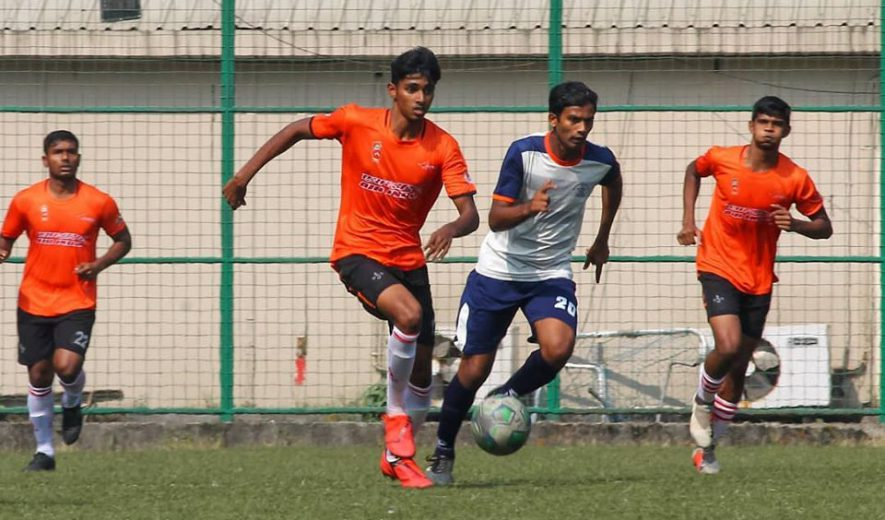 Maharashtra State Police produced a valiant effort to hold Nadkarni Cup champions Air India to a goal less draw on Friday's Elite Division encounter played out at Cooperage.