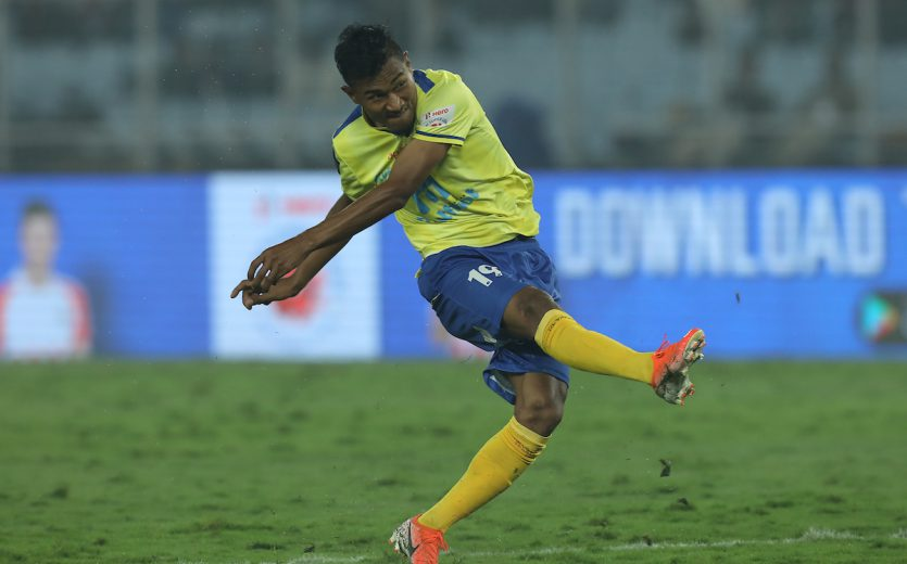 Kerala Blasters FC picked up an important 1-0 win against ATK, thanks to a second-half strike by Halicharan Narzary at the Vivekananda Yuba Bharati Krirangan, Kolkata, on Sunday.