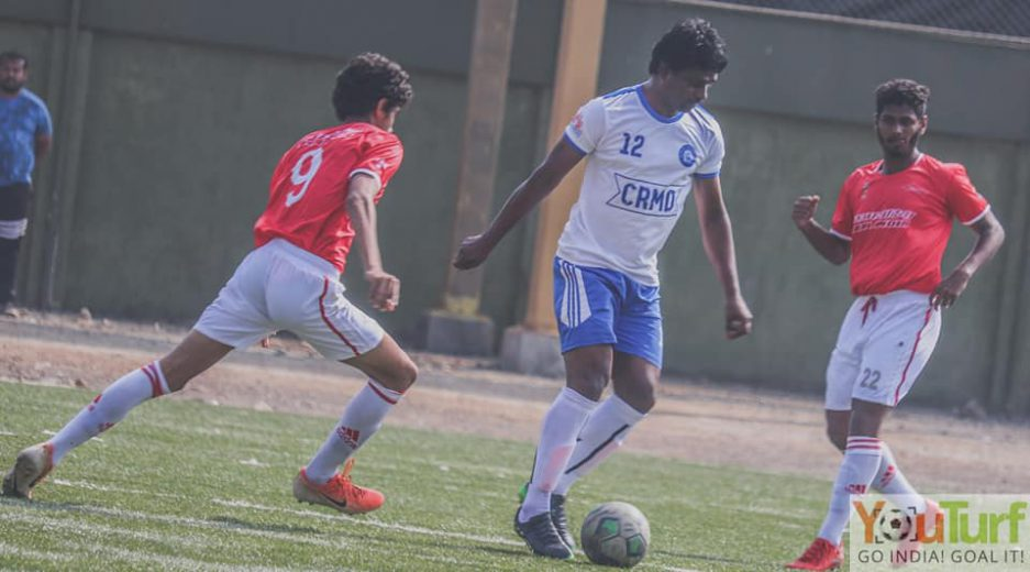 In Super Division encounters, a late strike from Marven Pereira rescues a point for Air India Youth as they hold Central railways to 2-2 draw, while in other game Atlanta draw with Young Boys