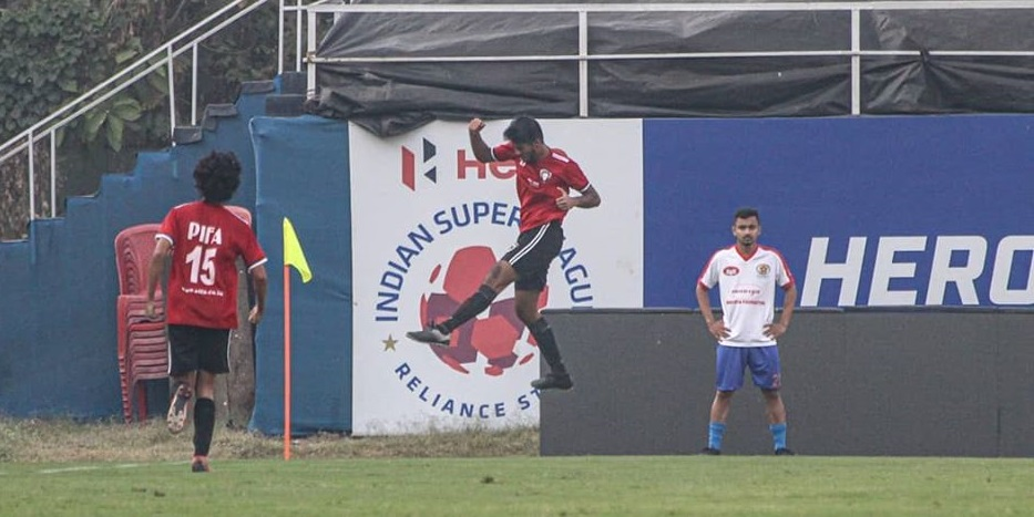 Second half goals from kaiwalya and Nawab gave PIFA Colaba FC a close 2-1 win over Sellebrity FC in MDFA Elite Division encounter.