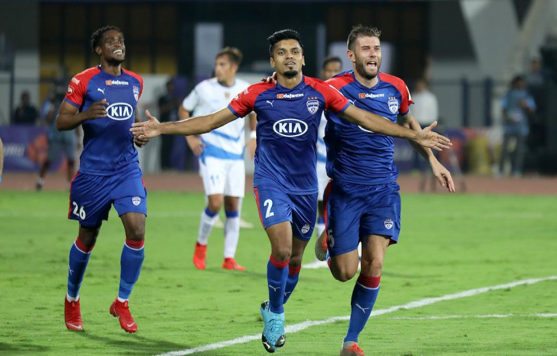 Bengaluru bounced back from their defeat to Mumbai City in style with a dominating 3-0 win against Odisha FC at the Sree Kanteerava Stadium here on Wednesday.