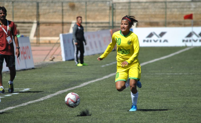 KRYPSHA FC cruised to a 4-0 victory against Kickstart FC Karnataka in the opening match of the 4th Hero Indian Women's League (IWL) on Friday, January 24 at the Bangalore Football Stadium.