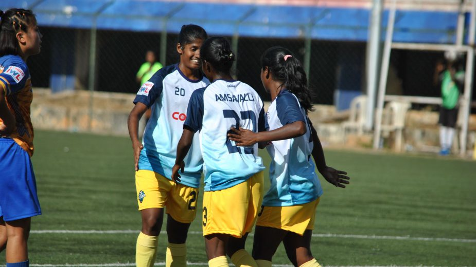 Defending champions Sethu FC made a flying start to their IWL campaign by a resounding score-line of 5-0 against Kolhapur City FC at the BFS