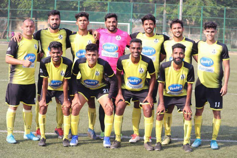 A late CS Nageef strike gave Mumbai Customs a crucial win over Central Bank of India while in Super Division Soccer XI edge Sunday Boys in 7 goal thriller