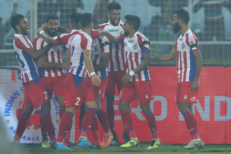 A last-gasp header from substitute Balwant Singh saw ATK pip NorthEast United 1-0 and go top of the Hero Indian Super League ladder