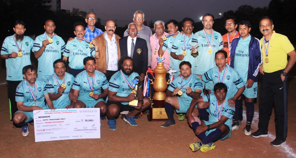 Registrations for 3rd Late Shri Vishwanath Anchan Memorial Veterans' football tournament for the 2019-29 season is now open