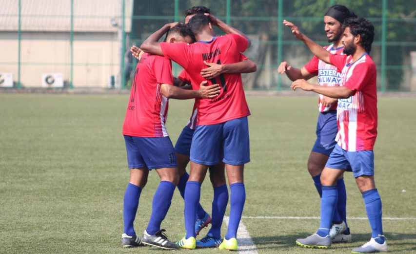 BOB came from a goal down to beat Western Railway 4-1 courtesy of a late burst of goals led by Mascarenhas hat-trick, meanwhile Mumbai Warriors, RSF win in Super Division