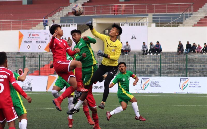 Hero Junior NFC for Dr. BC Roy Trophy 2019-20 underway in Shillong will see its champions being crowned on Thursday as Mizoram go up against Punjab in final