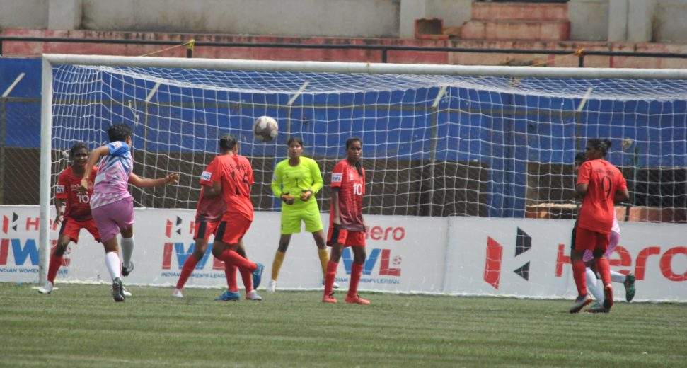 Odisha Police played out a 1-1 draw with Sreebhumi FC at the Bangalore Football Stadium on Friday, as both sides closed out their 4th Hero IWL campaign