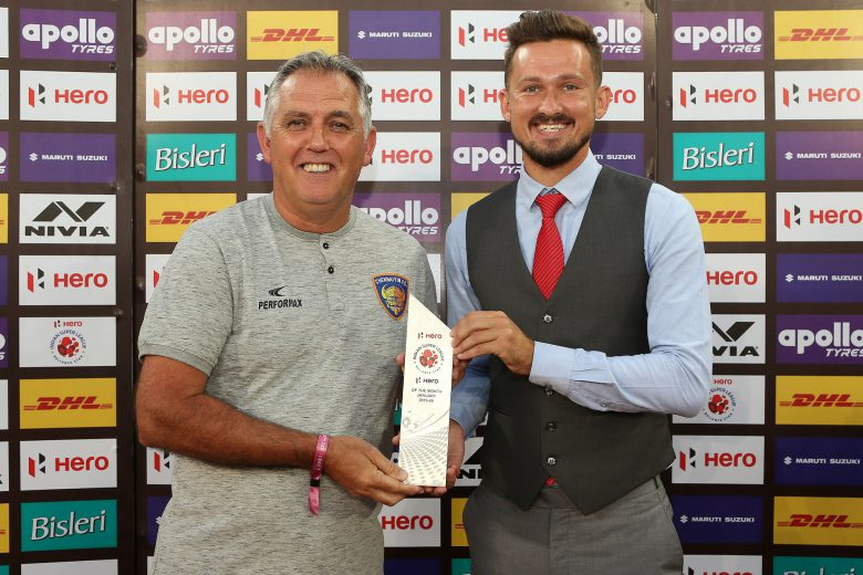 Chennaiyin FC striker Nerijus Valskis was named the ISL 'Hero of the Month' for January 2020 for his impeccable performance during the period.