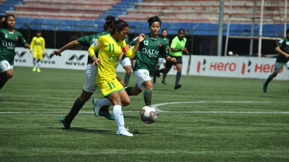 Manipur-based KRYPHSA FC reached their maiden Hero IWL final after a hard-fought 3-1 win over Mumbai's Kenkre FC courtesy of Ratanbala brace