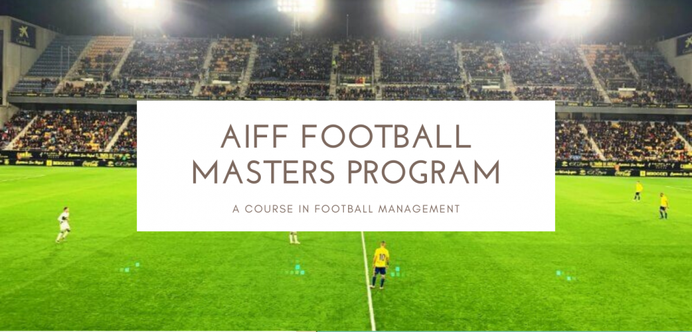 One of kind opportunity for young graduates who want to pursue Sports Management if Football is your love then AIFF's new Football Masters Course is the one