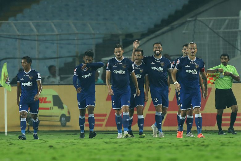 Chennaiyin FC continued their remarkable run in the Hero Indian Super League with a 3-1 win over ATK at the Vivekananda Yuba Bharati Krirangan here on Sunday.