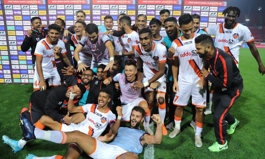 FC Goa scripted history by becoming the first-ever Indian club to secure a spot in the AFC Champions League group stage following a 5-0 win against Jamshedpur FC