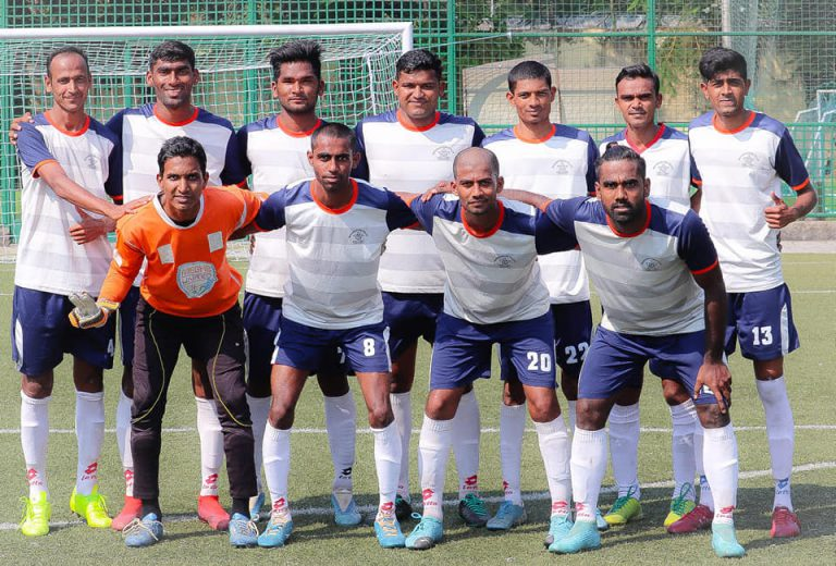 Maharashtra State Police dished out another determined performance to outplay Century Rayon recording a comfortable 2-0 victory in an Elite Division matc