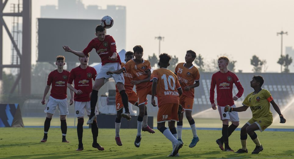 Manchester United FC youngsters dominated proceedings against FC Goa in the inaugural game of the PL-ISL Next Generation Mumbai Cup 2020