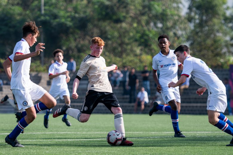 An English football classic kick-started the second day of the PL-ISL Next Generation Cup Mumbai 2020 with Chelsea FC squaring off against Manchester United FC