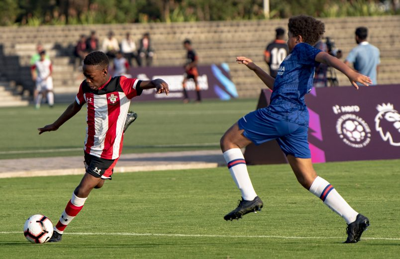 An All-English clash was one of the highlights of the evening leg of Day 2 of the PL-ISL Next Generation Mumbai Cup 2020 as the youth team of Chelsea took on their counterparts from Southampton,