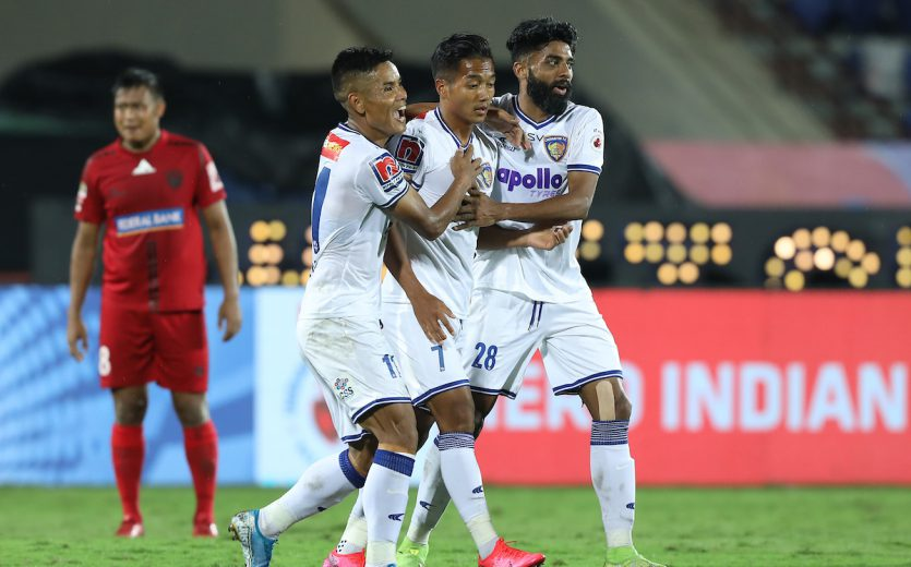 The league stage of the Hero Indian Super League came to an end after NorthEast United and Chennaiyin FC played out a 2-2 draw