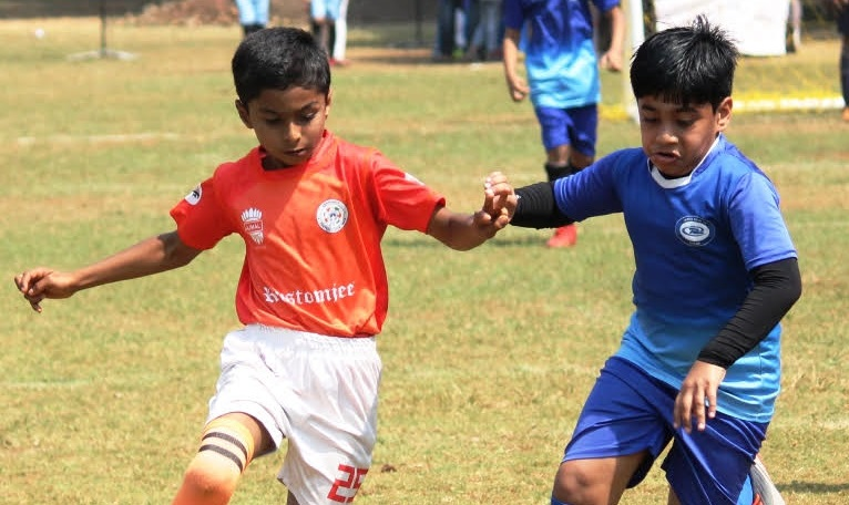Siddhartha Joshi's twin strikes was the highlight of Sporko CFCI, Andheri 3-0 win against India Rush, Thane in a boys' under-10