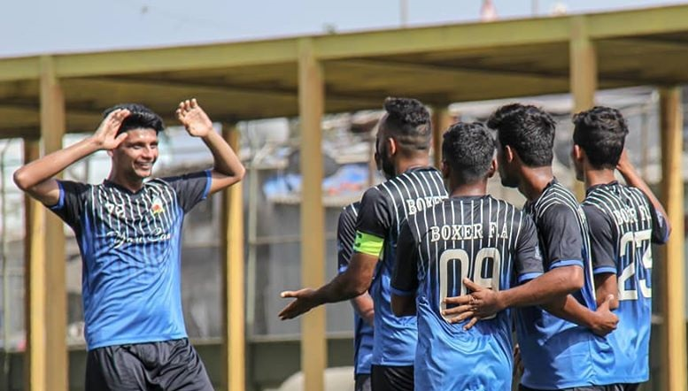 Mumbai Marines edge lemon Break on Penalties to reach MDFA 2nd Division final while in the 2nd semifinal, Boxer FA obliterated OSSM to be one step away from title.