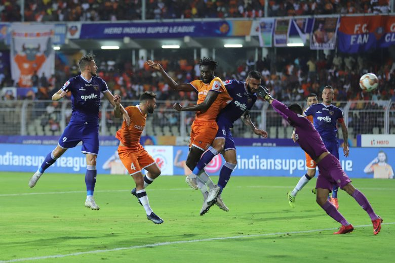 Two-time champions Chennaiyin FC booked their place in the final of the Hero Indian Super League despite a 2-4 loss to a spirited FC Goa in the second leg of their semi-final