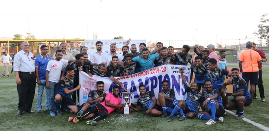 The 2019-2020 MDFA 2nd Division title clash saw Boxer FA ride on Anjikya Umasare brace to outclass Mumbai Marines 4-2 to lift the cup.