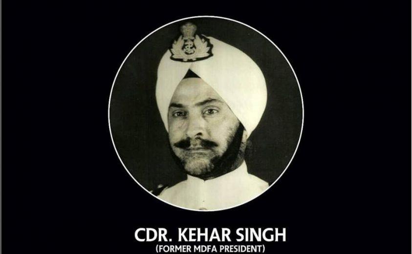 Commander Kehar Singh