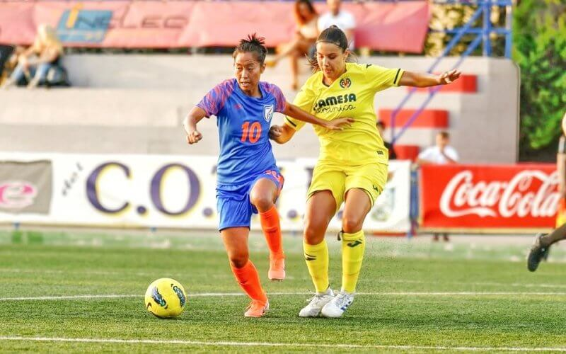 "AIFF President Mr. Praful Patel felt all players should ""take inspiration"" from Bala Devi who is currently on a professional contract with Rangers, the first Indian woman footballer to do so."