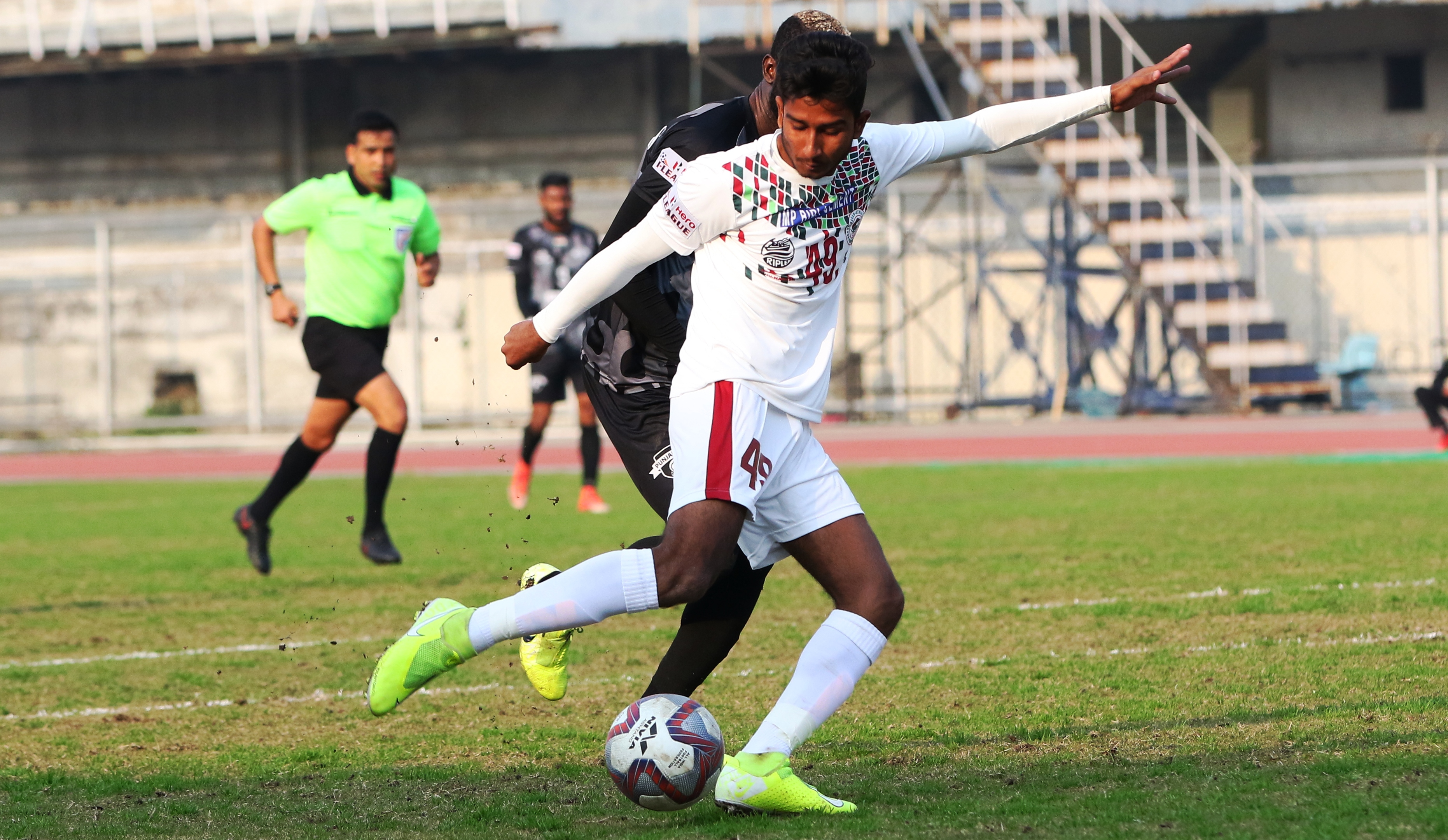 Mohun Bagan's Subha Ghosh thanks his father for backing him while his teammate Sheikh Sahil labels his father as his 'luckiest charm'.