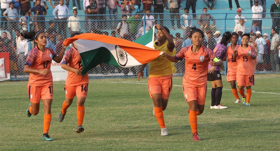 Chhetri urged the Indian Women's Team to leave no stone unturned, have no regrets and start preparing for AFC Women's Asian Cup India 2022 from now itself.