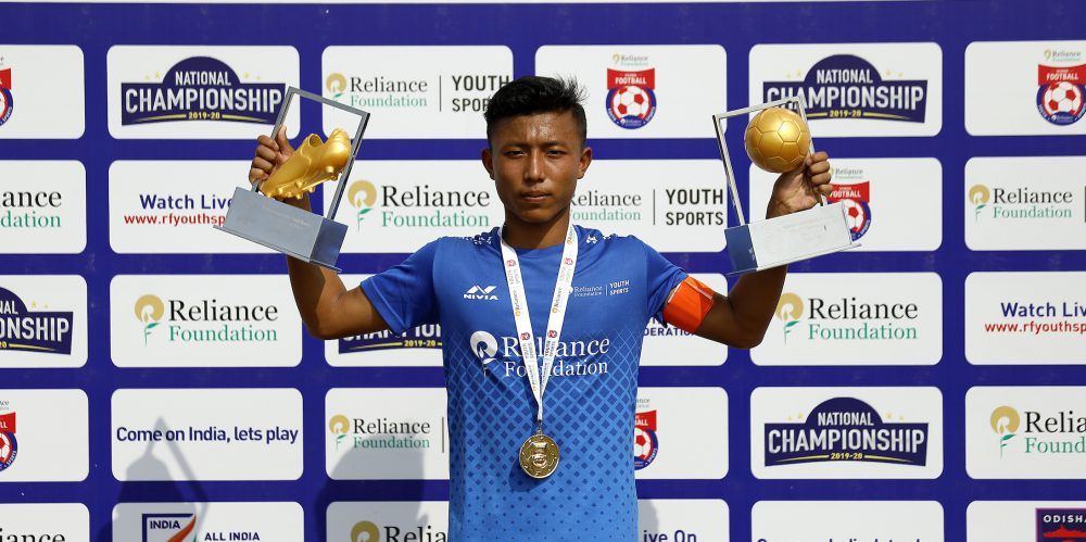 Annaroy Soibam, who captained the Unique Model Academy to title in the RFYS U14 National Championships, has earned a call-up to join Odisha FC youth squad