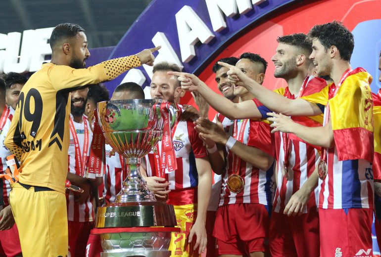 When ATK took onChennaiyinFC in the last Hero Indian Super League season's final, the coronavirus pandemic was just starting tobecome a frightening reality across the country.