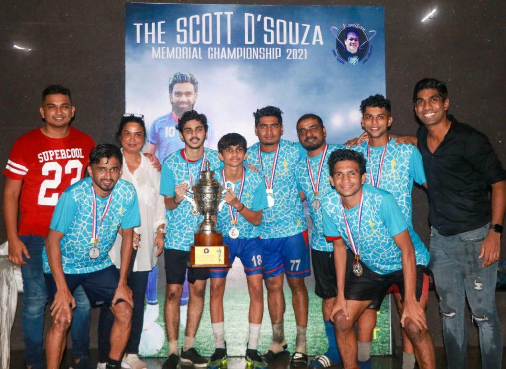 Juhu Akers, the Runners Up of Scott D'souza Memorial Championship